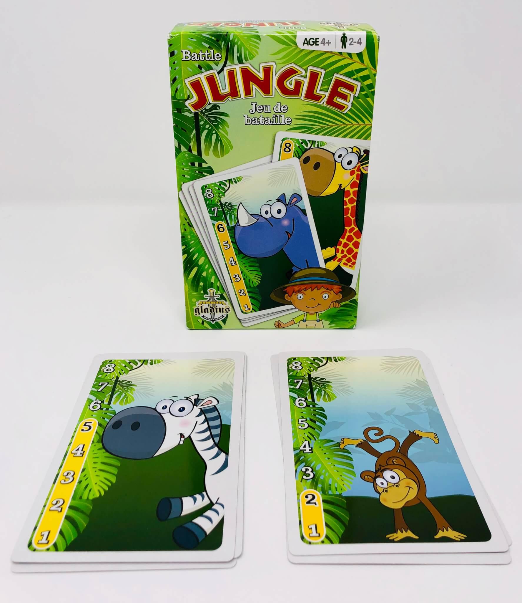 Jungle – Jeu de bataille (Gladius)