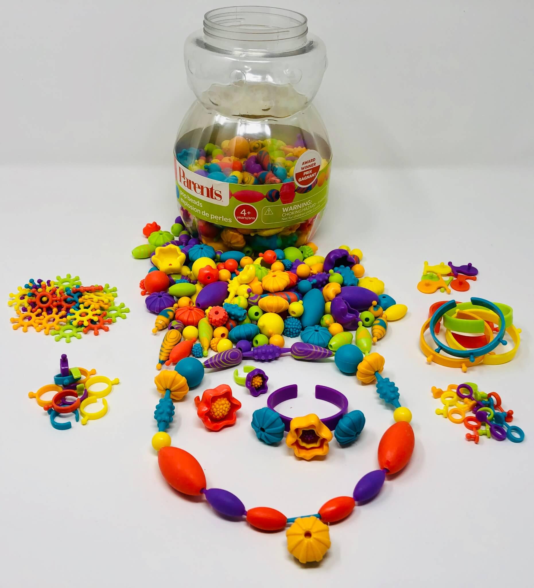 Perles texturées à imbriquer (Parents)