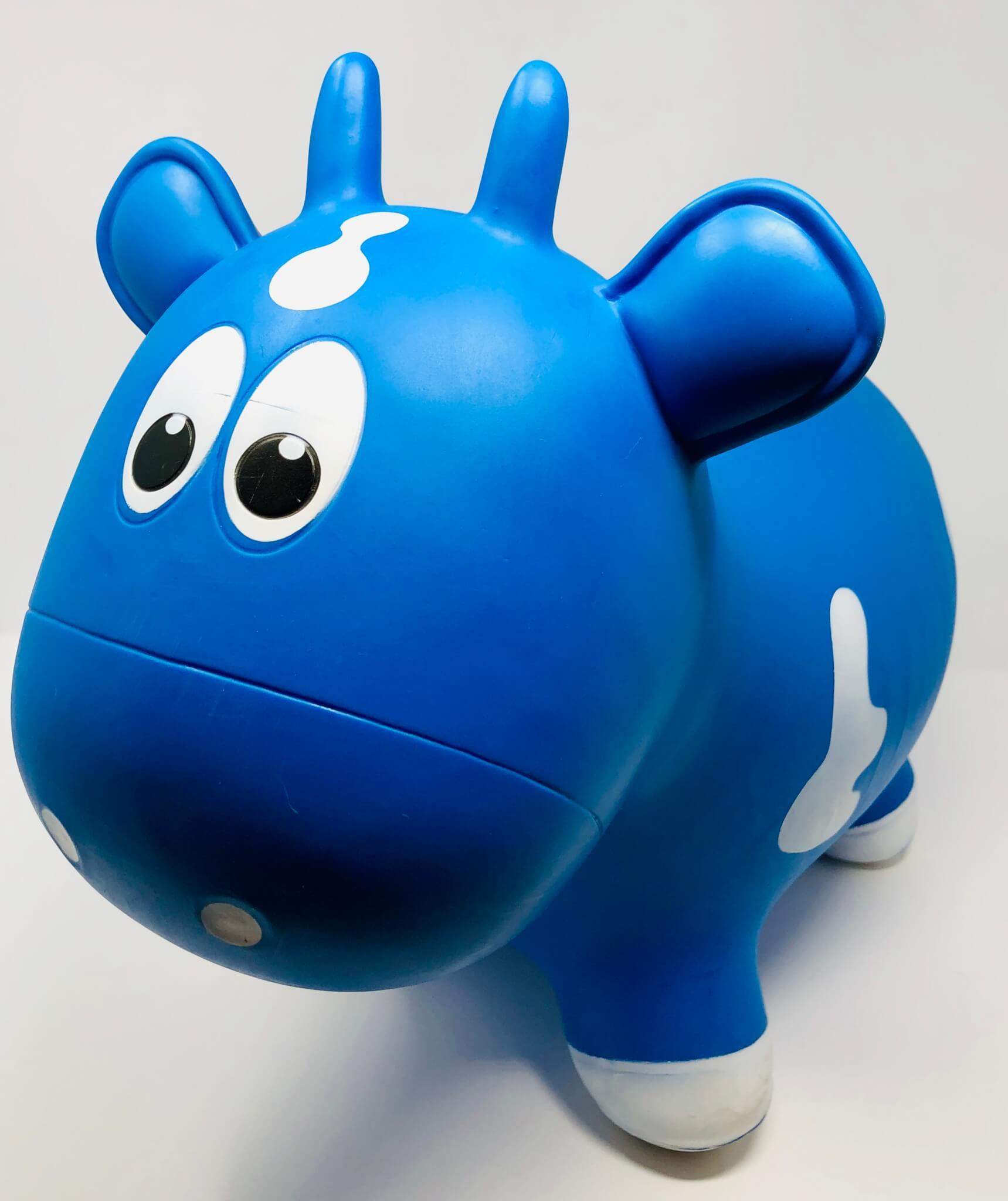 Vache sauteuse bleue (Farm Hoppers)