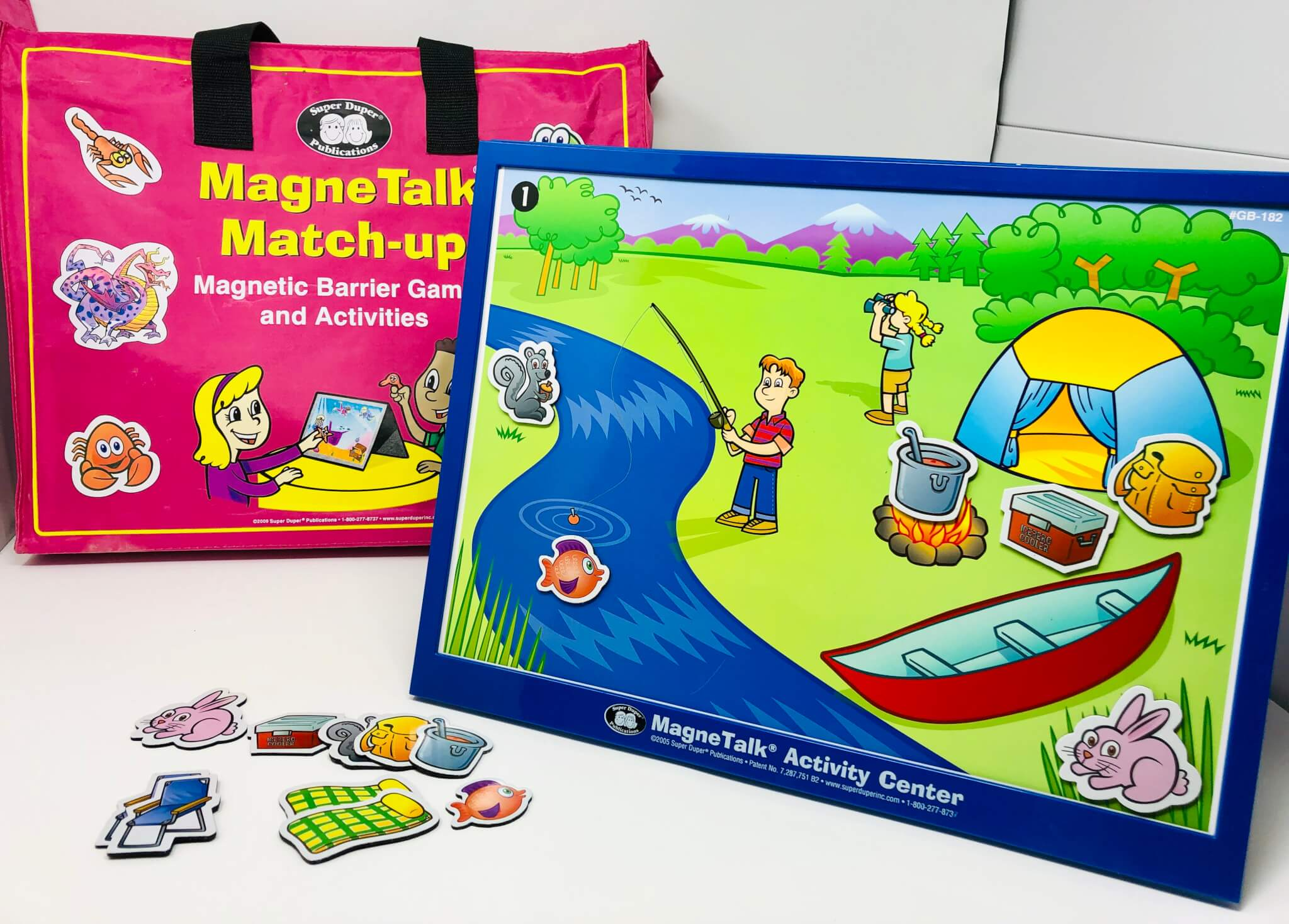 MagneTalk Match-Up Adventure Kit (Super Duper Publications)