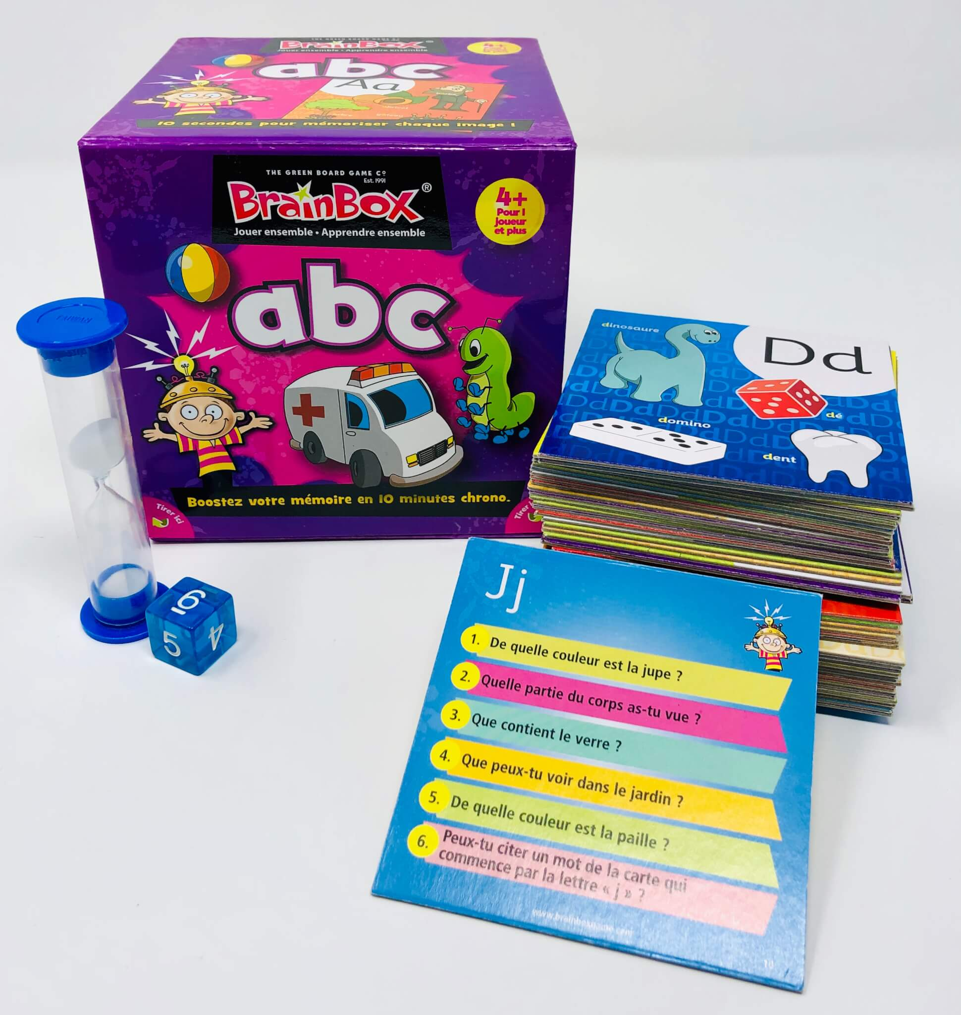 La Brainbox abc (The Green Board Game)