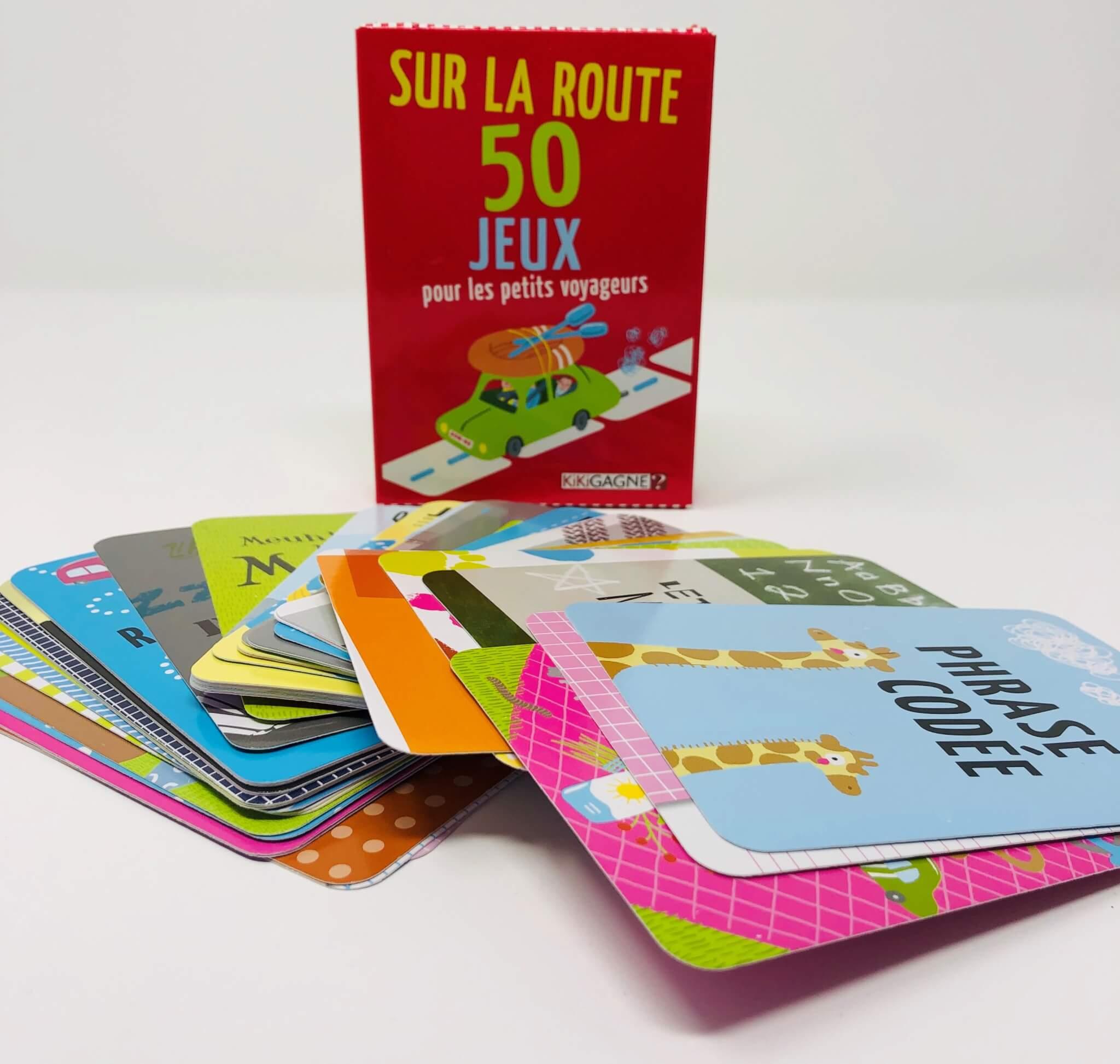 Sur la Route – 50 jeux pour les petits voyageurs (Kikigagne)