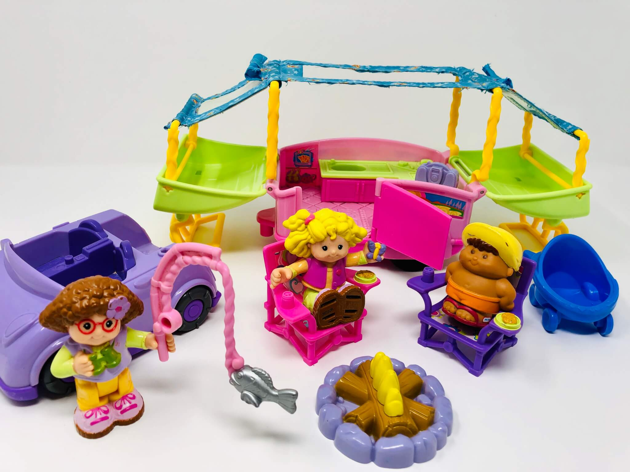 Ensemble de camping Little People (Fisher-Price)