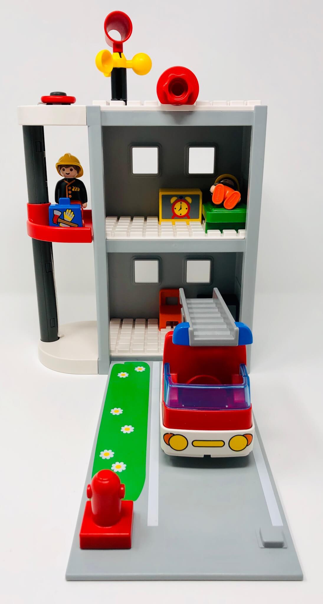 Caserne de pompiers (Playmobil)